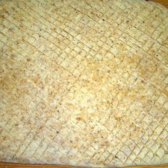 Leveles tepertős pogácsa recept