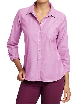 Love! Women's Oxford Shirts   Old Navy