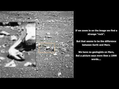 Mars : NASA find ancient tools ? Comparing stone tools on Earth.