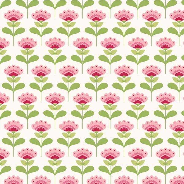 Tilda Fabric - Molly Pink - Tilda - Fabric by Designer - Fabric Stitch Craft…