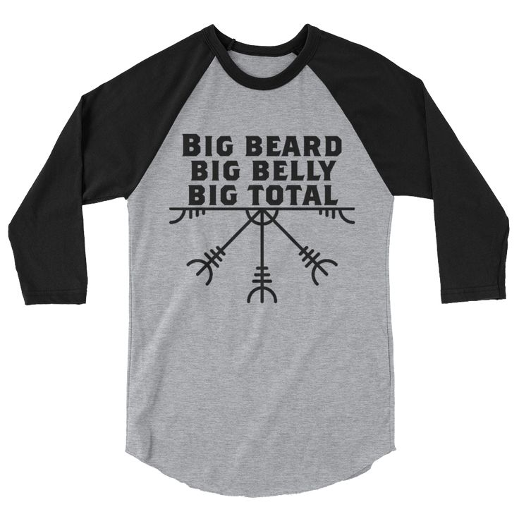 "RS Logo ""Big Beard, Big Belly, Big Total"""