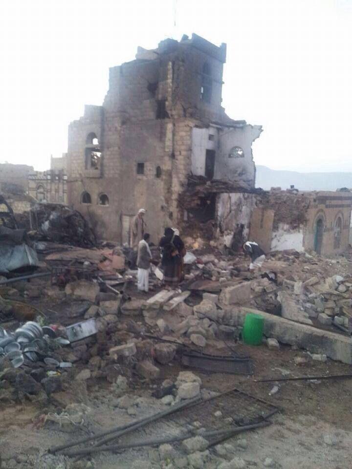 رابطة علماء اليمن تدين قصف طيران العدوان الأعراس (نص البيان) | حصاد اليوم