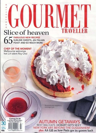 Australian Gourmet Traveller Magazine, March 2011 (searchable index of recipes)
