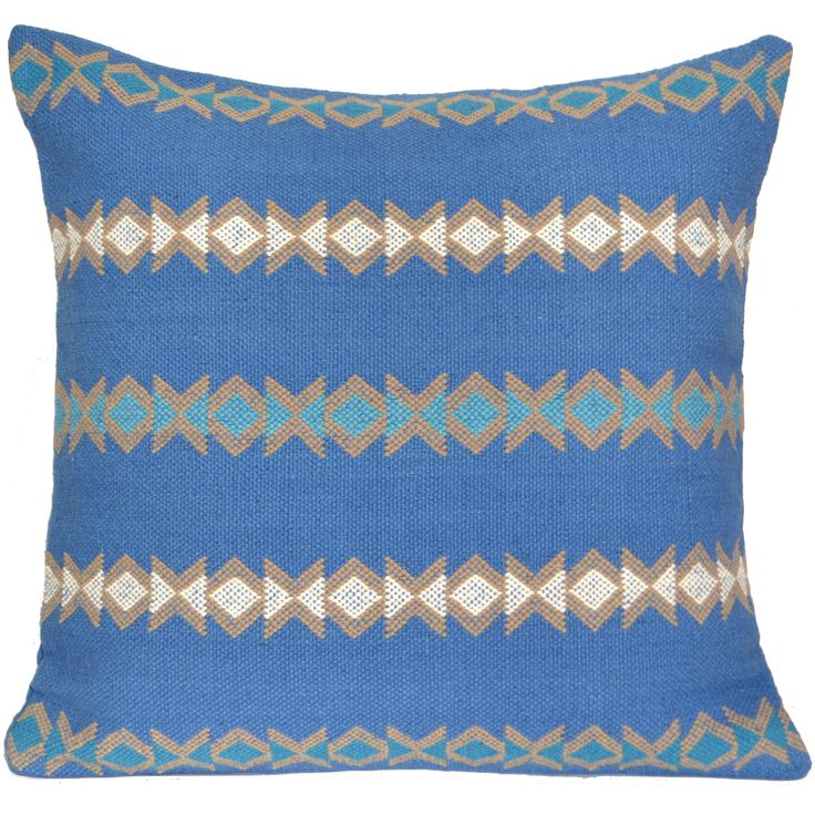 "100% Cotton. Hamdloom Cushion Covers available in 16"", 20"" and 24"""