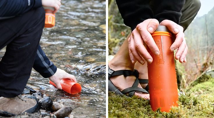 ものすごく簡易的なモノに見えます。が、このボトルでろ過すれば、大抵の水が飲めるようになるそうです。詳しくは以下のとおり。<除去できるもの>・ウイルス(...