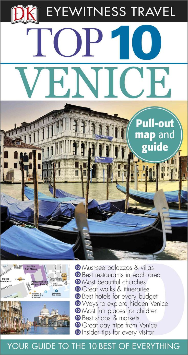 DK Eyewitness Travel Guides: the most maps, photography, and illustrations of any guide. DK Eyewitness Travel Guide: Top 10 Venice is your pocket guide to the very best of Italy's famous Floating City