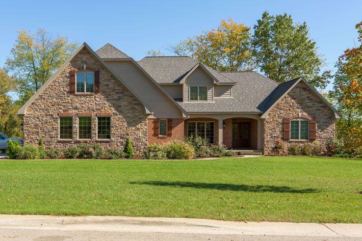 119 Best Glen Gery Brick Homes Images On Pinterest Brick