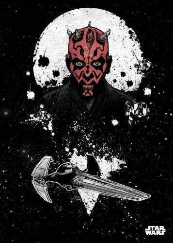 Star Wars Darth Maul metal poster - PosterPlate posters made out of metal