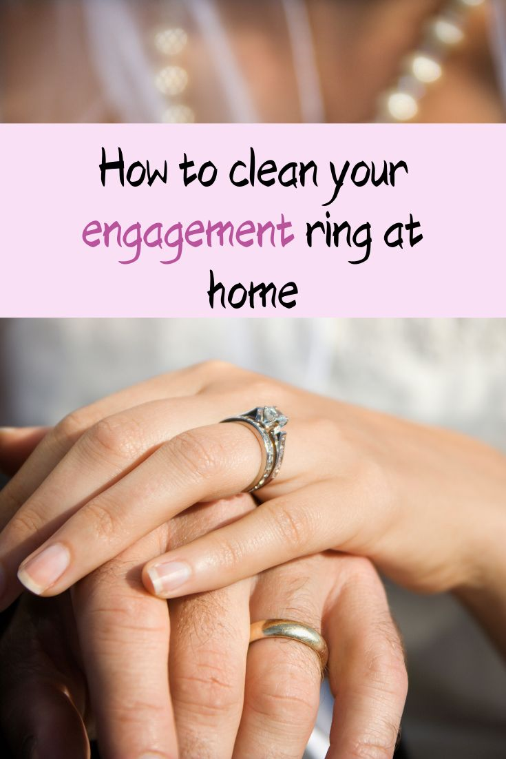Cleaning your engagement ring engagement ring cleaning