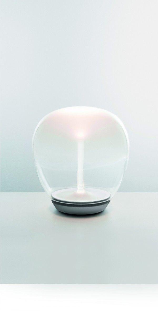 Empathy, light, glas, gradient, white, transparent, Artemide #artemide #lightborn  www.artemide-obchod.cz