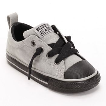 Converse Chuck Taylor Street Slip-On Shoes - Toddler sized