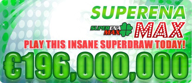 Play this incredible new SUPERDRAW - it happens later today, so get tickets early on www.playlottoworld.com.