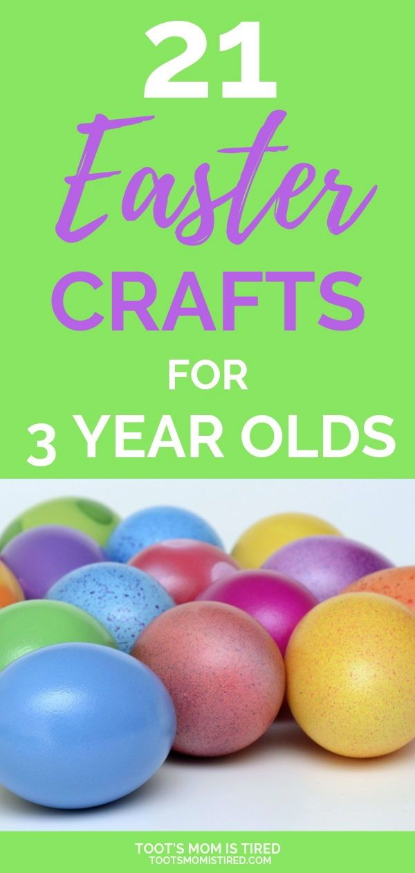 21 Easter Crafts For 3 Year Olds Kbn Activities For Preschoolers