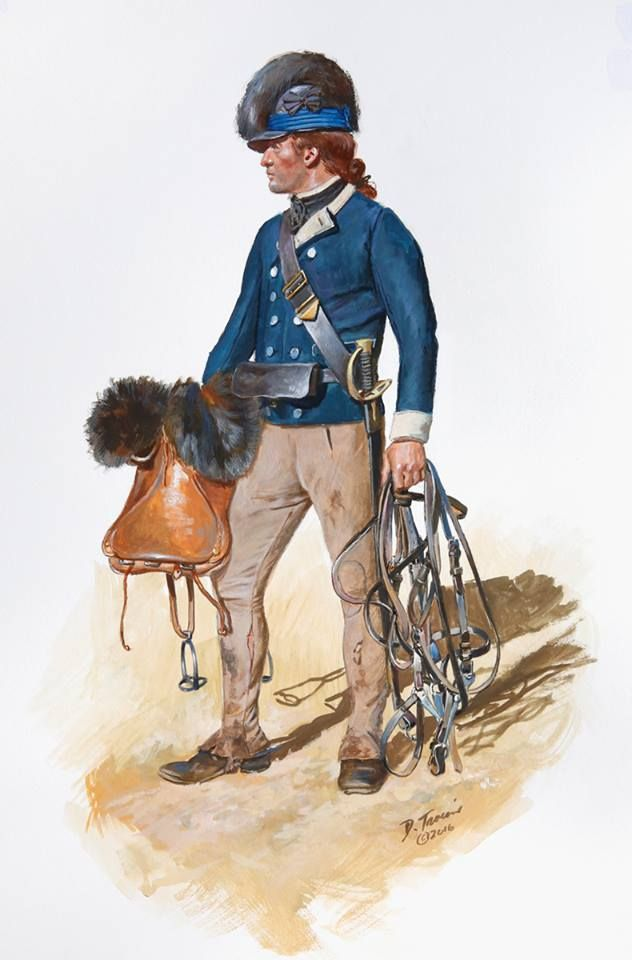 Nelson's Virginia Corps of State Cavalry 1780 - 1781, by Don Troiani. The Virginia Corps was part of the Whig army annihilated by Earl Charles Cornwallis at Camden in 1780. Art by Don Troiani.