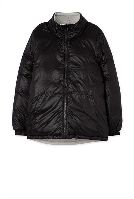Health Goth // Country Road / Run Dew Puffer Jacket