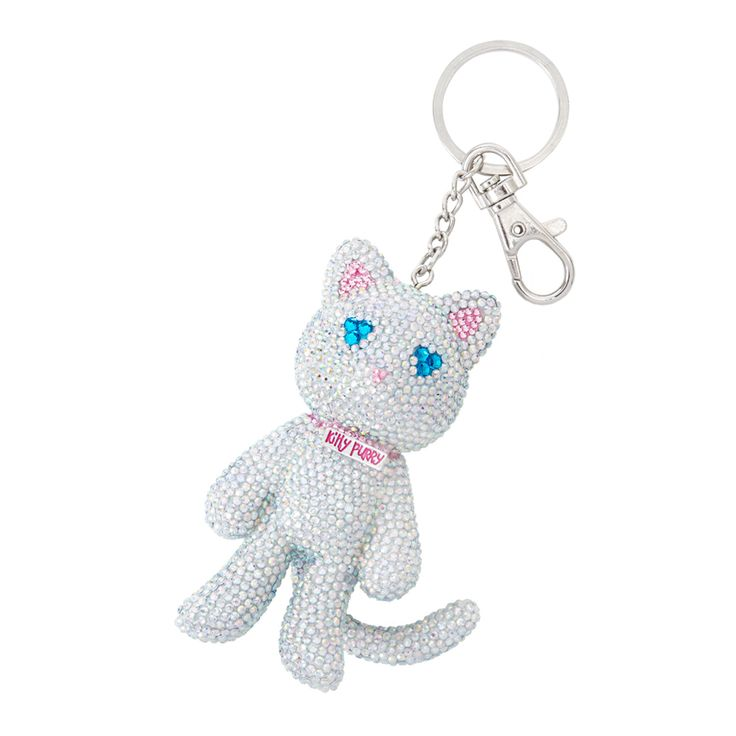 Katy Perry PRISM Exclusive Crystal Kitty Purry Keryring