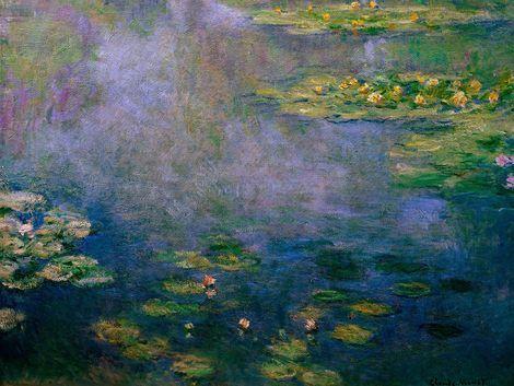 Claude Monet, Water Lilies on ArtStack #claude-monet #art