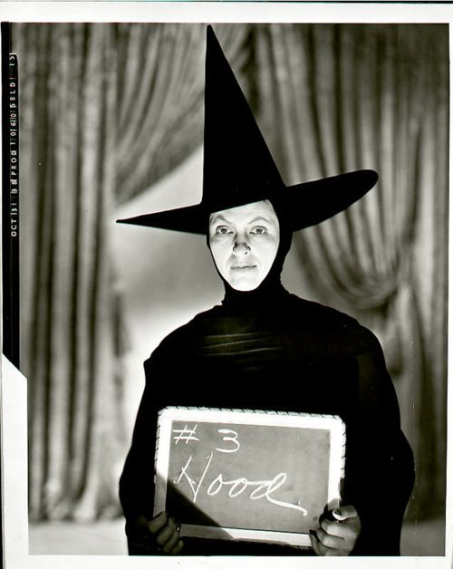 Gale Sondergaard - the original actress that was cast as the Wicked Witch in Wizard of Oz