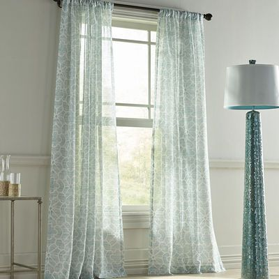 highlife sheer blue curtain blue curtains and room crafts