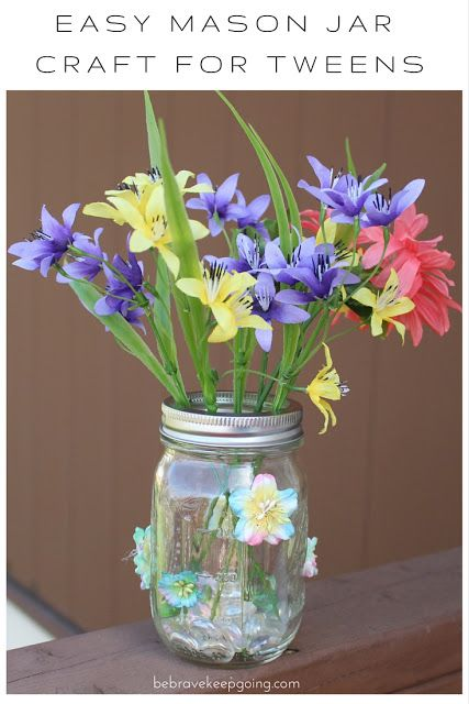 17 best images about mason jar crafts on pinterest mason for Holiday crafts for tweens