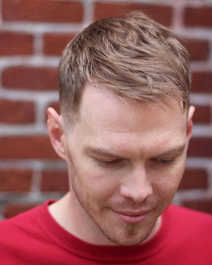Hairstyles with receding hairline for men - Matching