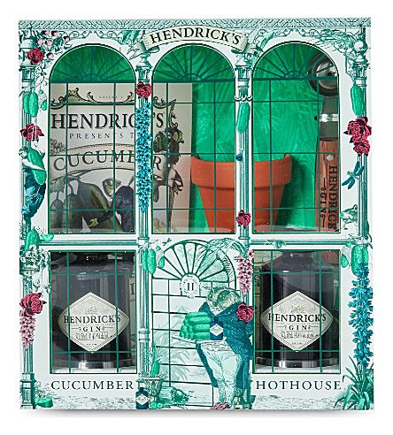 HENDRICKS - Hendrick's Hot House gin gift set 2x50ml | Selfridges.com