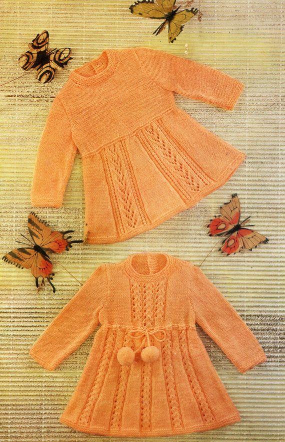Digital Download A4 PDF Vintage Knitting by NostalgiaPatterns