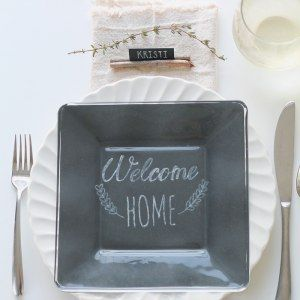 Simple Rustic Table Setting - Love Grows Wild featured on DETAILS http://carolynsdetails.blogspot.com/