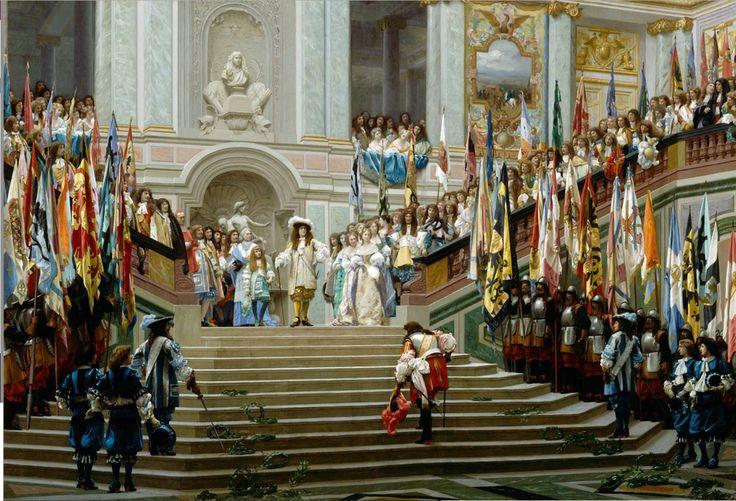 Υποδοχή του κόντε Prince στις Βερσαλίες