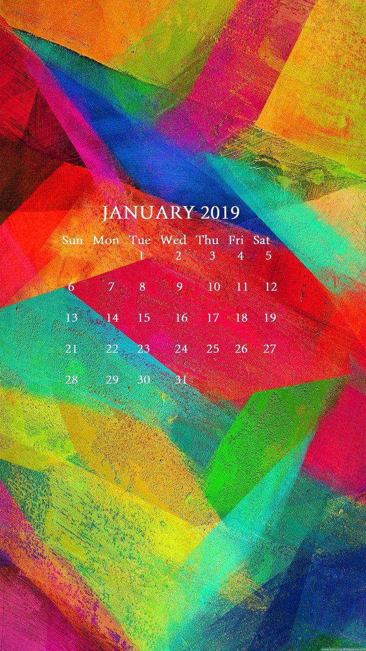 January 2019 iPhone Calendar Wallpaper iphone