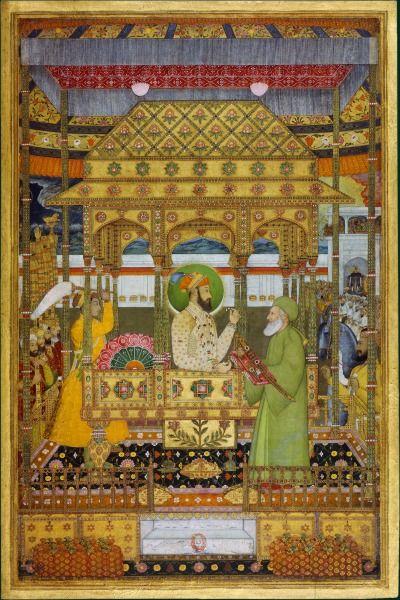 Azim ush-Shan, the second son of the emperor Shah Alam Bahadur Shah