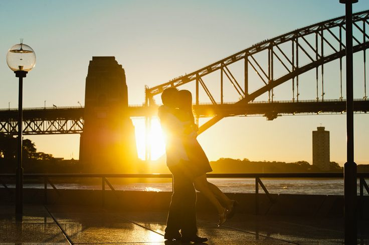 Vincent + Heidi's Sunny Sydney Engagement Session » Skipping Stone Photography
