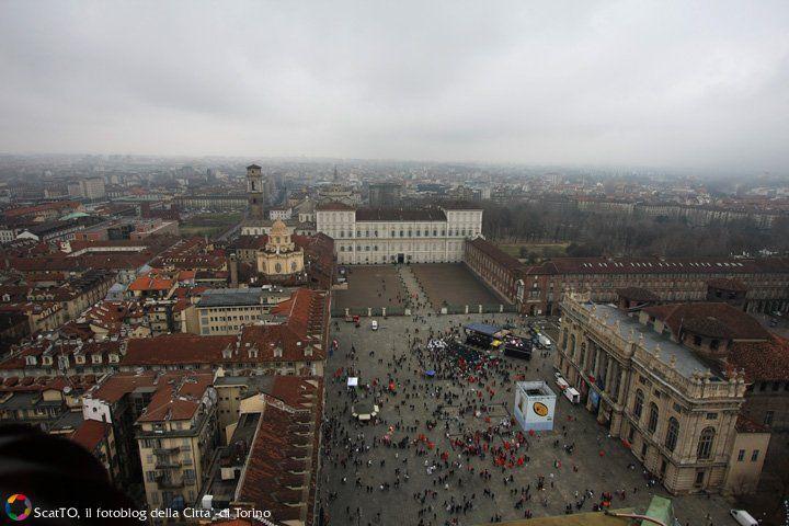 Piazza Castello, Palazzo Reale, Porte Palatine e Duomo
