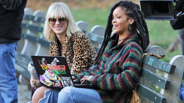The women of Ocean's 8 are here to make your week better: See the all-star cast on set