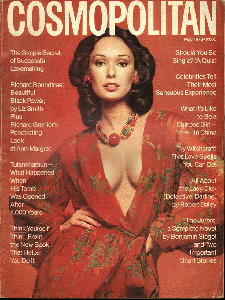 Cosmopolitan magazine, MAY 1973 Model: Lynn Woodruff Photographer: Francesco Scavullo