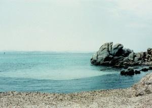 THIBAUT CUISSET LES BOUCHES DE BONIFACIO, 1995 Photographie 32 x 46 cm Cibachrome (8 pièces)