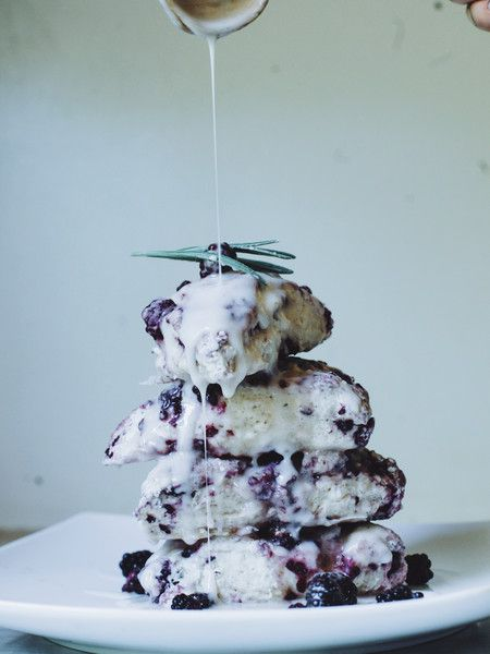 Vegan Blackberry Vanilla Bean Scones – Black Springs Folk Art