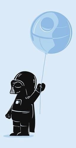 Death Star balloon! Haha!!