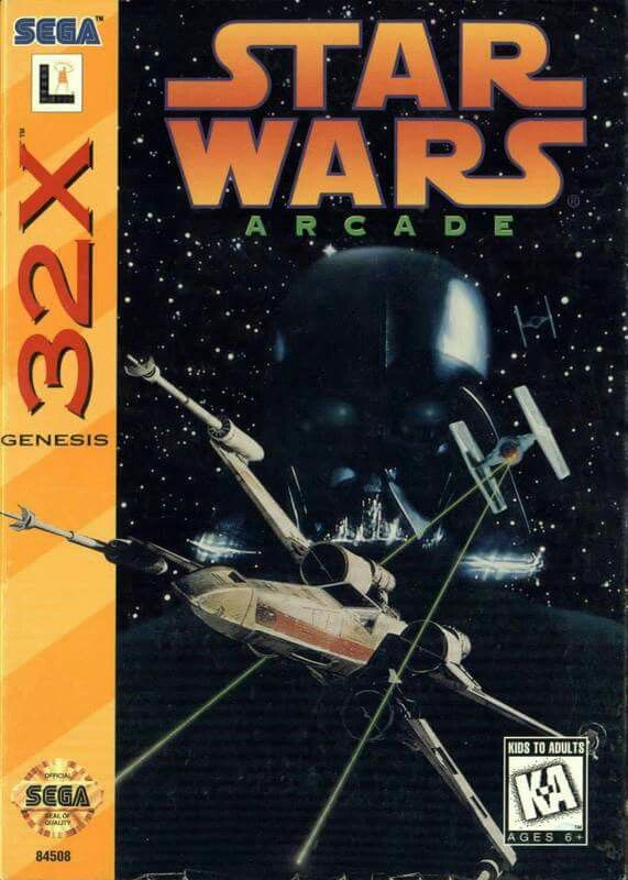 Star Wars Arcade for the Sega Genesis 32X System Boxed Complete