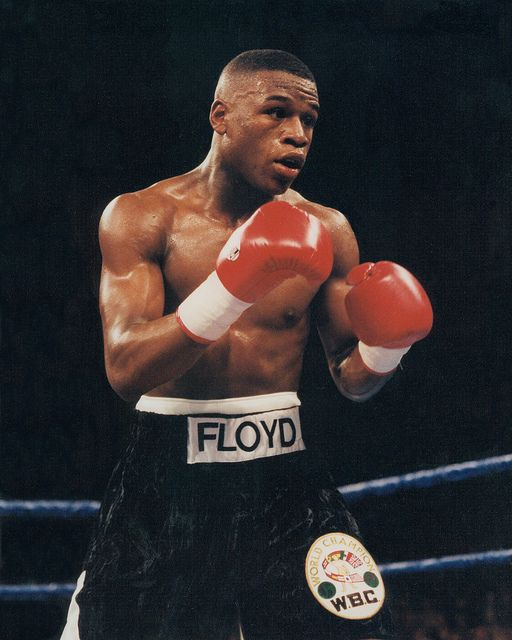 Grand Rapids-native Floyd Mayweather