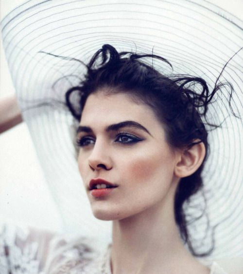 """""""Glamour Goes Easy,"""" featuring Melissa Stasiuk, photographed by Boo George for Vogue Nippon (June 2012)."""
