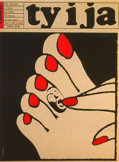 """ty i ja"" (you&me) - polish magazine  from 60s/70s"