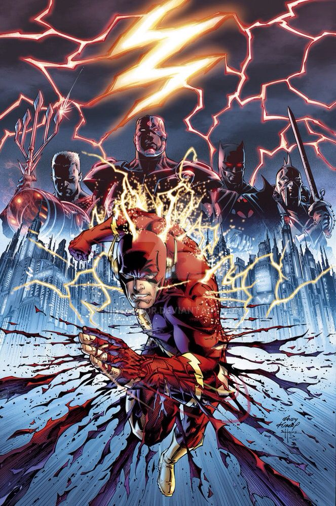 I really enjoyed the flash point paradox animated movie and likewise, find it's artwork both interesting and clever.