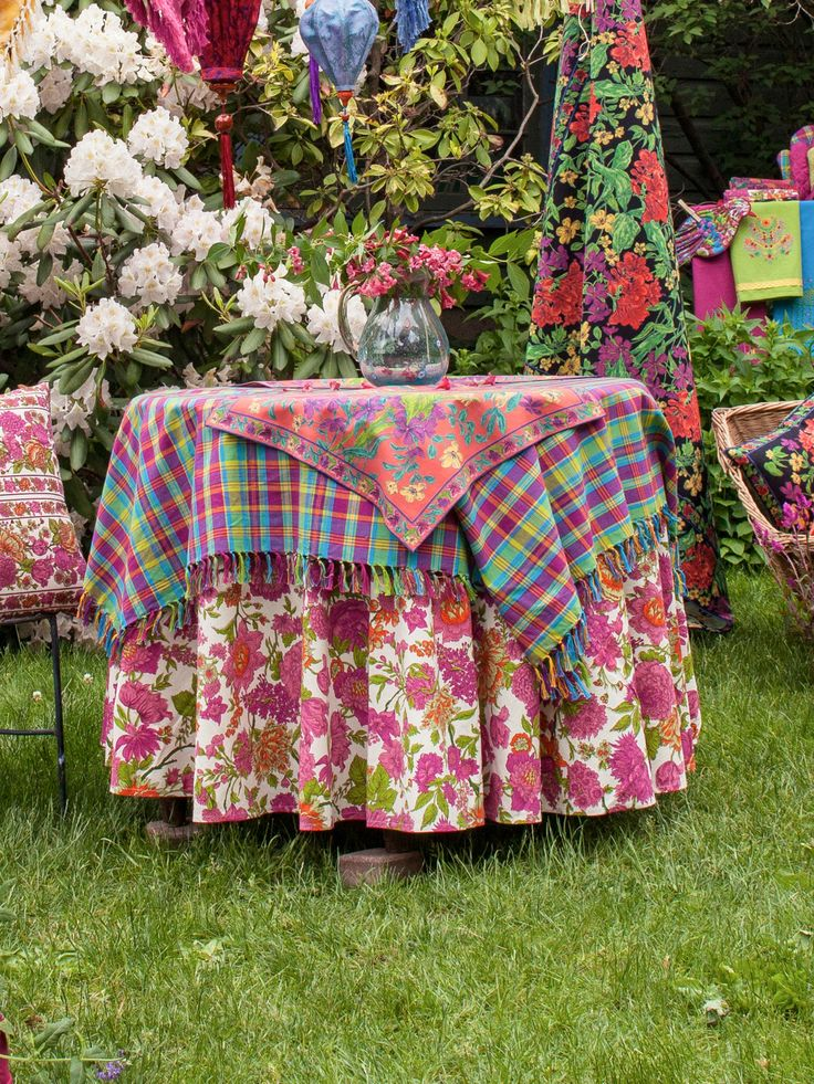 Floribunda Tablecloth In Ecru. Perfect To Mix And Match With Pieces From My  Hot House