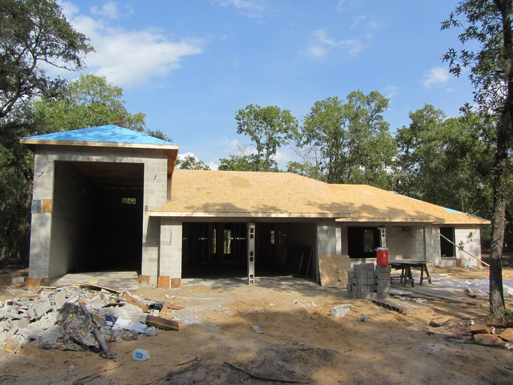 11 best dream homes big garages images on pinterest for Rv garage homes florida