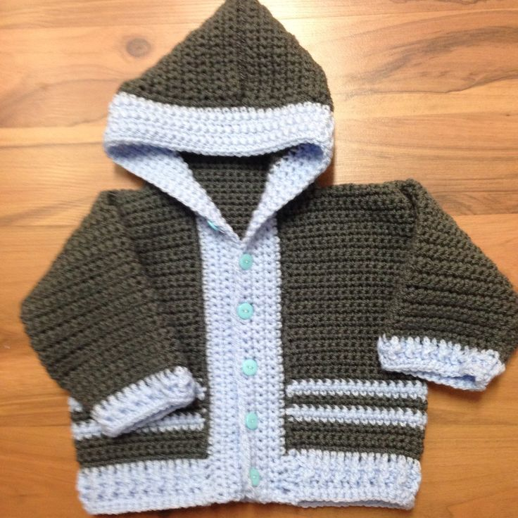 Part of my new shop look, these little hoodies are my biggest selling product. The pattern is supplied by TMKCrochet on Etsy. Order one in you selected color and sized up to 12 months. This one is sized for six months.