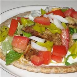 Meat And Poultry, Chicken Souvlaki Gyro Style, An Easy And Delicious Way To Recreate Your Favorite Greek Restaurant Dish At Home. This Mediterranean-Flavored Recipe Can Be Served Buffet-Style Allowing Your Guests To Make Their Own.