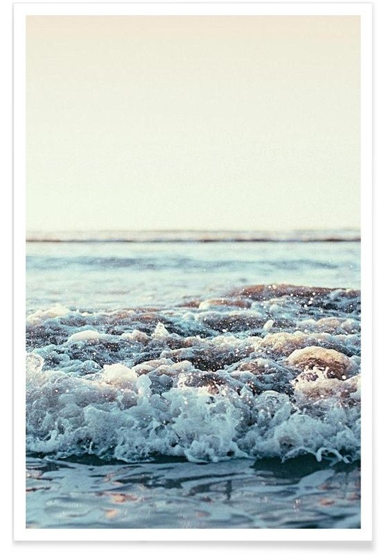 Pacific Ocean als Premium Poster von Leah Flores   JUNIQE