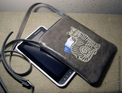 Сумки для ноутбуков ручной работы. Ярмарка Мастеров - ручная работа Сумочка-чехол для для планшета или электронной книги. Handmade.