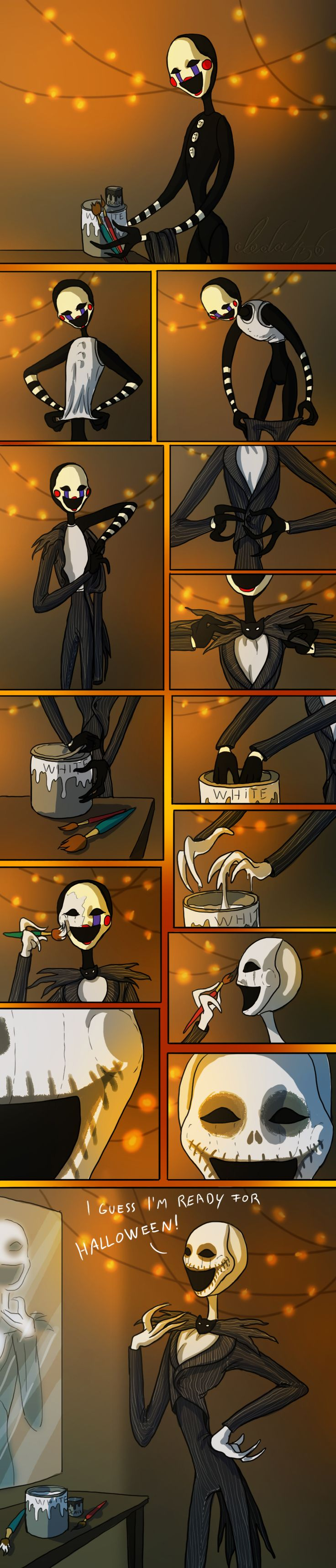 Marionette's Halloween